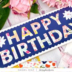Happy Birthday Slimline Card