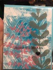 Mixed Media Card