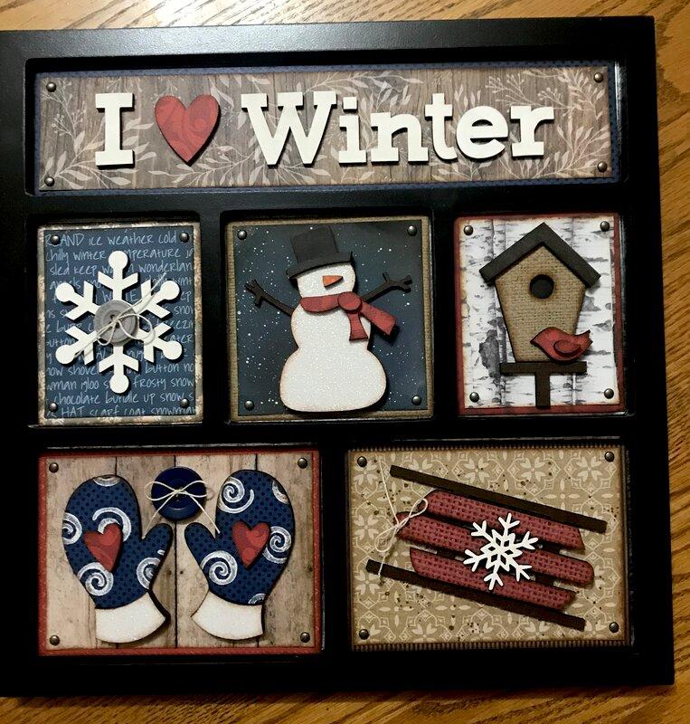 Winter - Foundations Decor Shadowbox