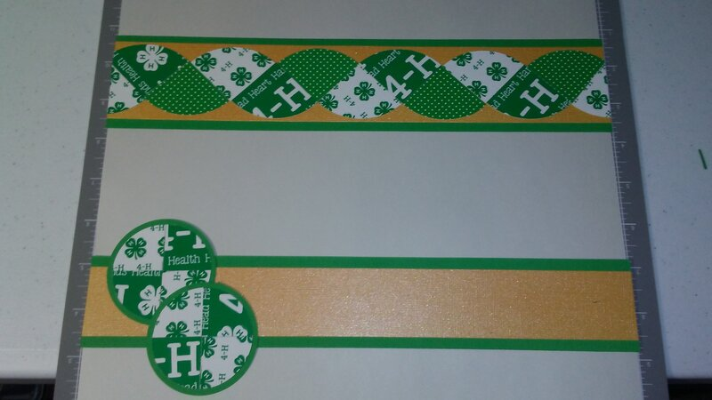4-H Scrapbook borders