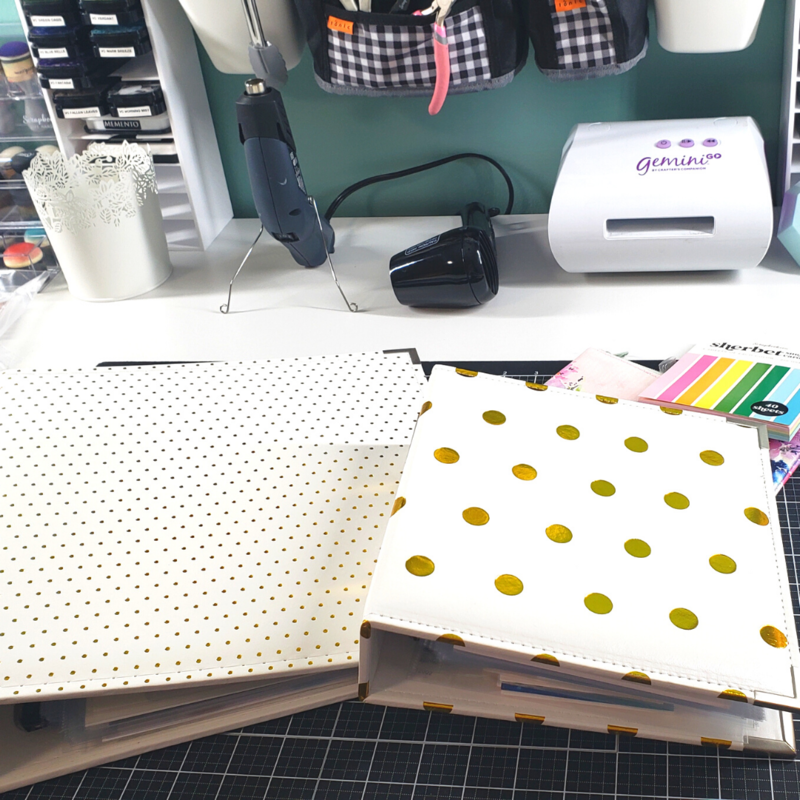 6x8 SBC Binders For Card Storage