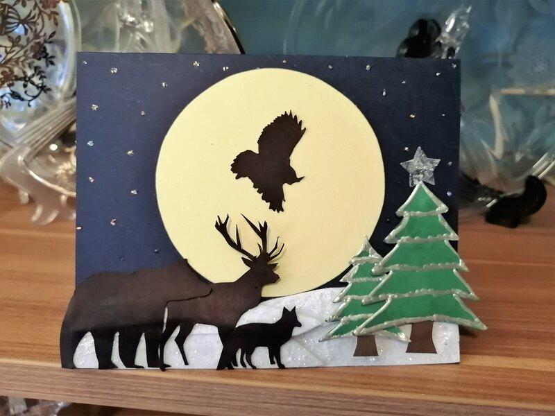 Woodland Animals - Christmas