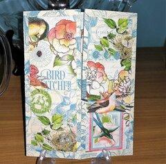 Bird Watcher Front - Shutter Card