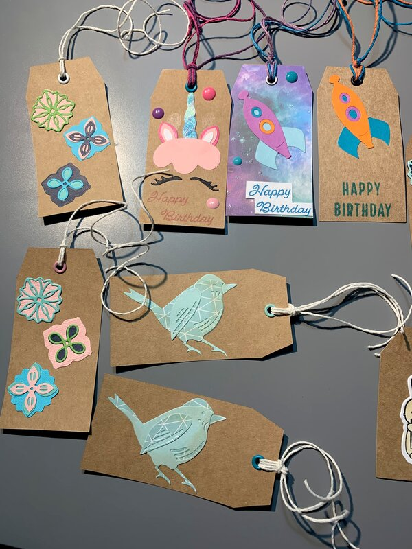 Gift tags, assorted occasions