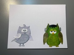 Scrapping Cottage Halloween Owls
