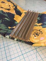 Bookbinding Tool- Metal die cut for a mini album template