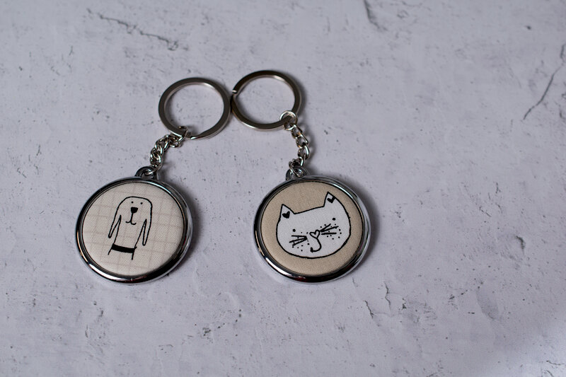 We r memory keepers keychain