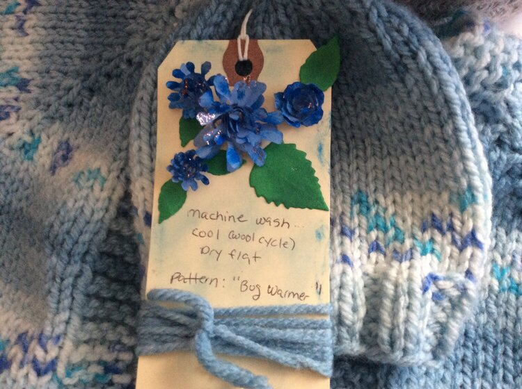 Super quick gift tag