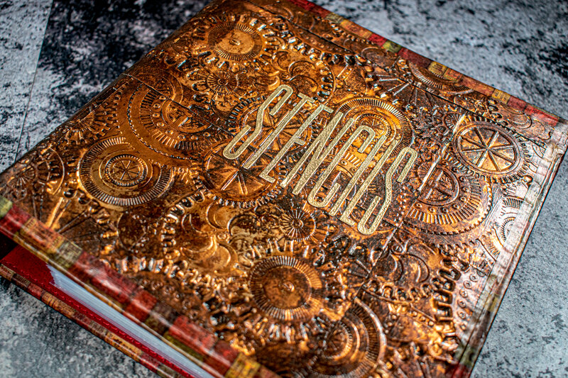 DIY Steampunk Album Makeover