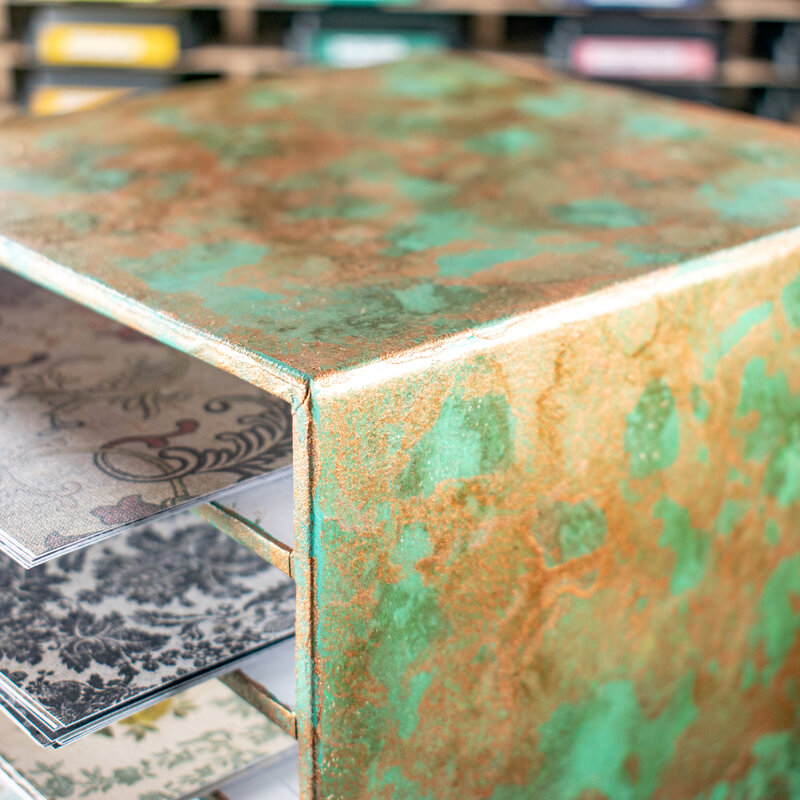Distressed Patina Effect