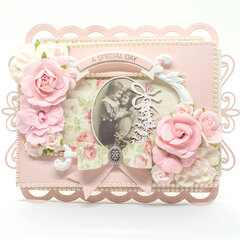 Interactive Card featuring Wedded Bliss Scene