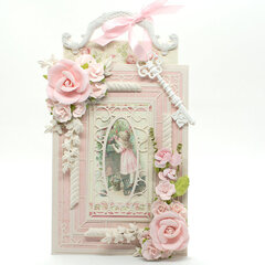 Pink Wistful Window Card