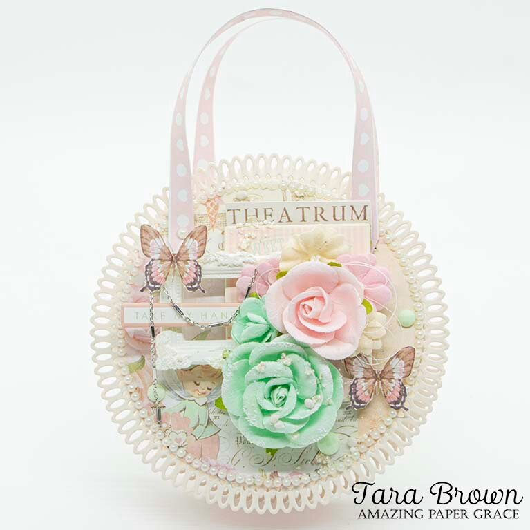 Purse made with Picot Petite Circles by Amazing Paper Grace