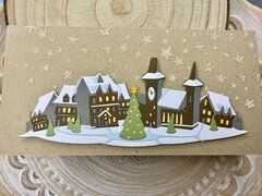 Christmas card - Holiday Village
