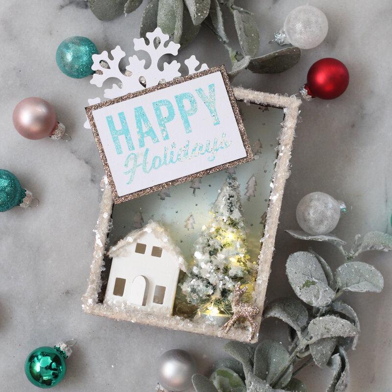 Happy Holidays Vignette