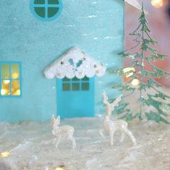 Little Snowy Christmas House