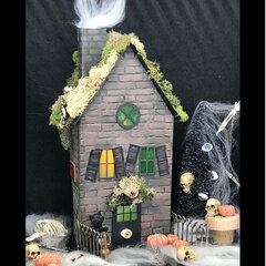Little Halloween House Sides