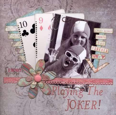 Playing the joker!