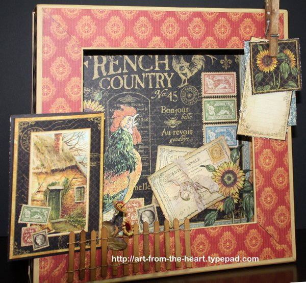 Graphic 45 French Country Shadowbox
