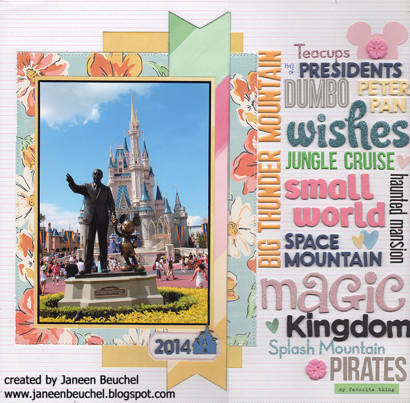 Magic Kingdom Title Page 2014
