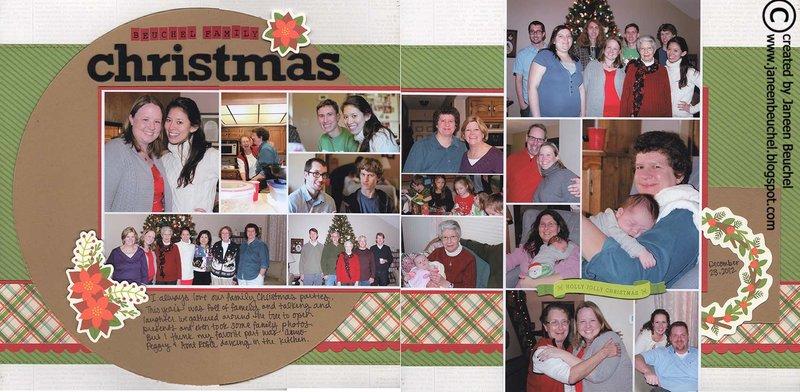 Beuchel Family Christmas 2012