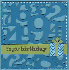 Birthday Numbers