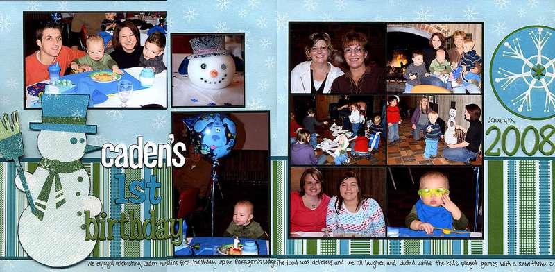 Caden's First Birthday