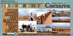 Herod's Palace at Caesarea