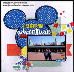 California Adventure Intro Page