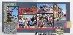 Christmas on Main Street - Magic Kingdom