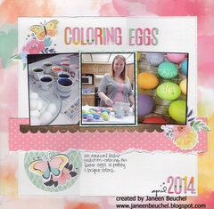 Coloring Eggs 2014