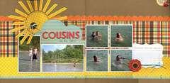 Cousins at the Lake
