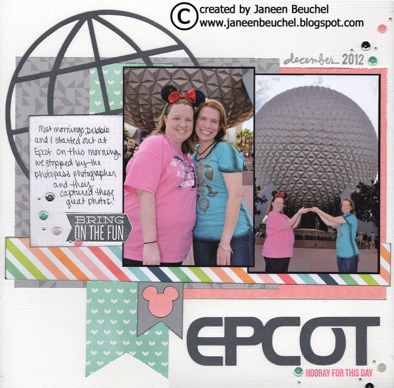 Epcot - Hooray for this Day