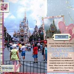 My First View of Cinderella's Castle