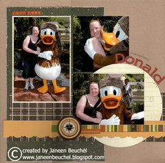 Frontierland Donald