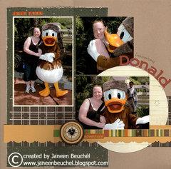 Frontierland Donald
