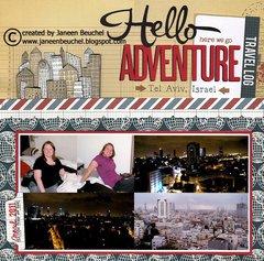 Hello Adventure -Tel Aviv