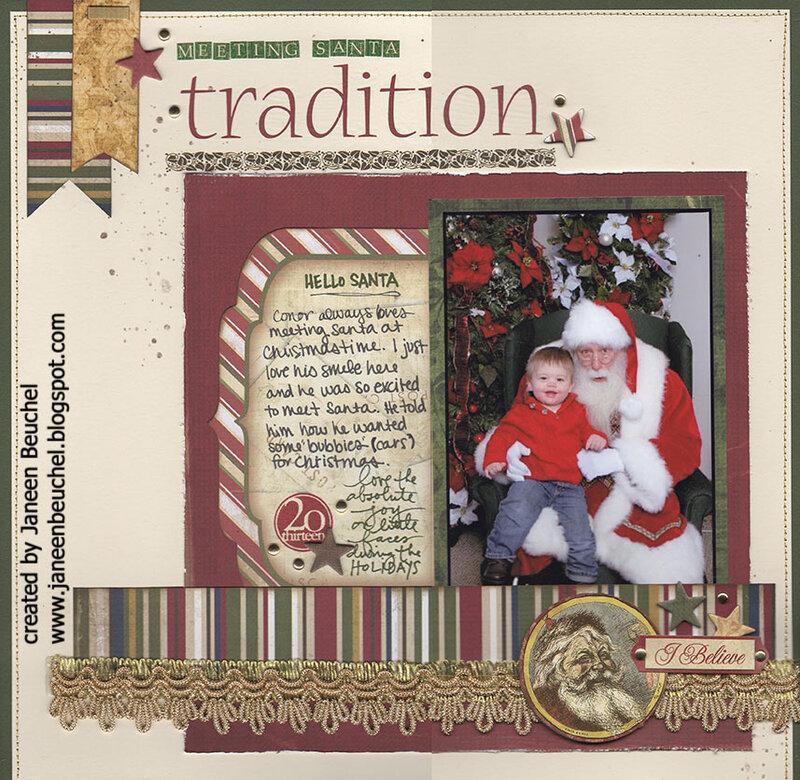 Meeting Santa Tradition