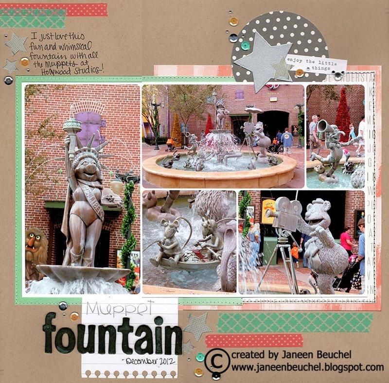 Muppet Fountain