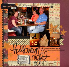 Spook-tacular Halloween Night