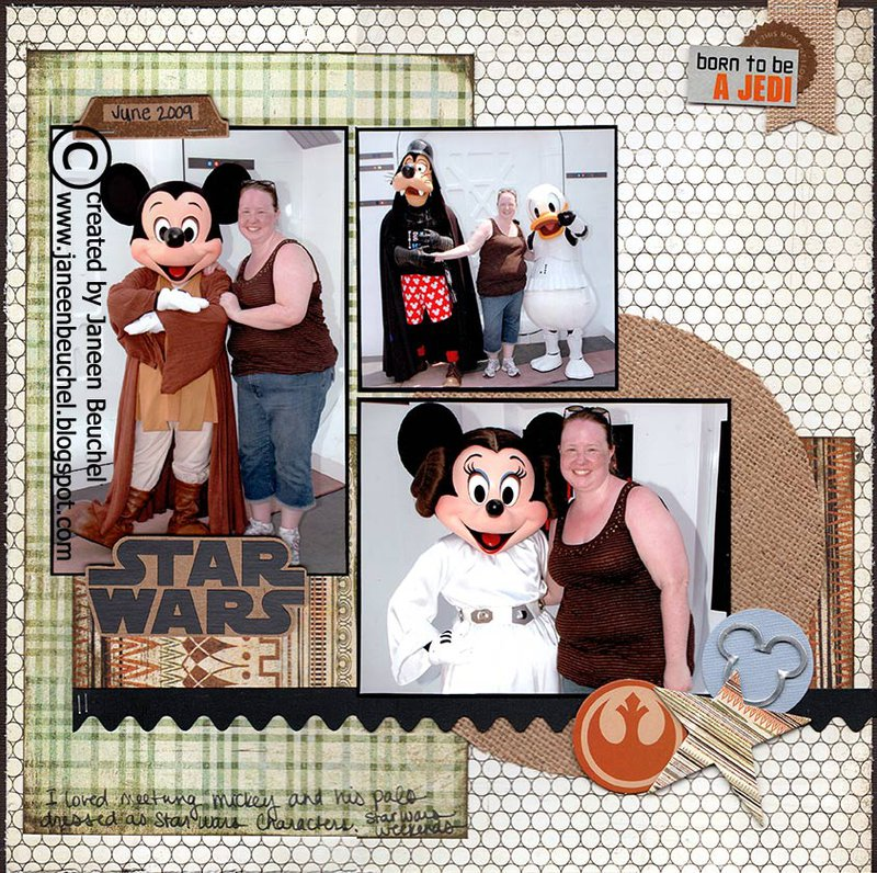 Star Wars Mickey and Pals