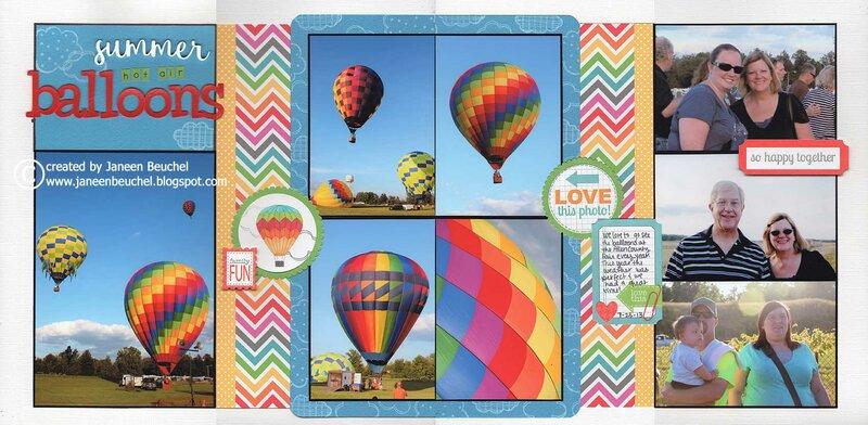 Summer Hot Air Balloons