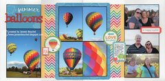 Summer Hot Air Balloons