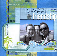 Sweet Friendship *NEW Bo Bunny Barefoot & Bliss*