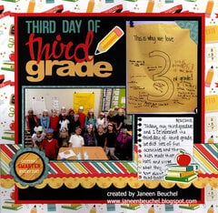 Third Day of Third Grade