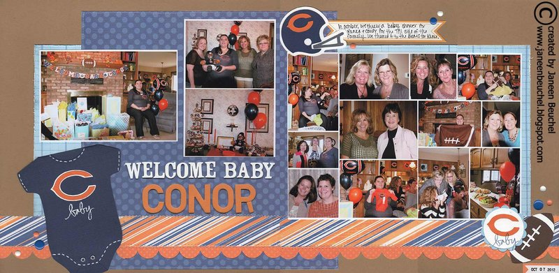 Welcome Baby Conor