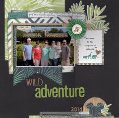Wild Adventure - Animal Kingdom 2014