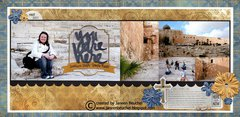 You are Here - Southern Steps, Temple Mount