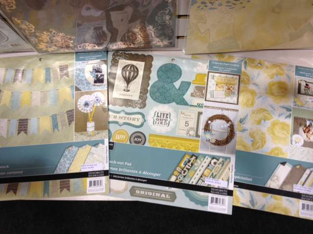 Brand New Colorbok Antique Paperie Collection