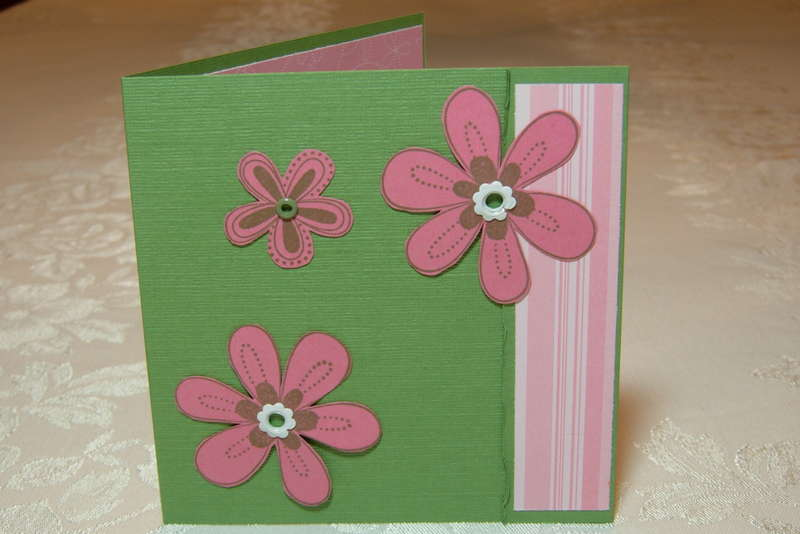SU Wild Wasabi and Prints Pack Friendship Card, front view